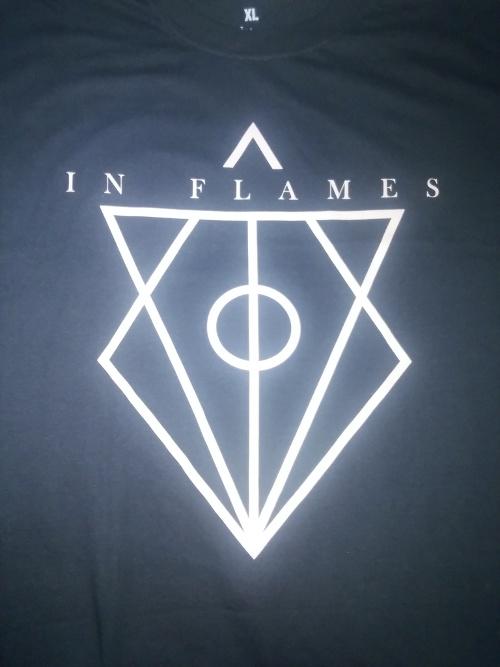 【在庫有り】IN FLAMES -イン・フレイムス- JESTERHEAD 「ジェスターヘッド」 Tシャツ XLサイズ