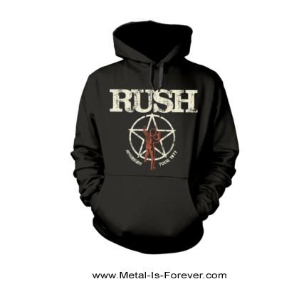 RUSH (ラッシュ) AMERICAN TOUR 1977 「1997年アメリカ・ツアー」 パーカー