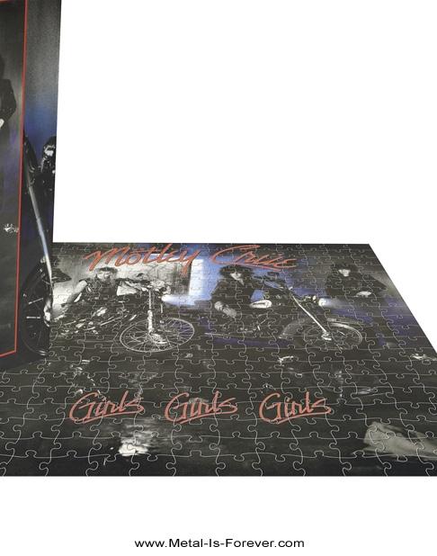 MOTLEY CRUE (モトリー・クルー) GIRLS,GIRLS,GIRLS 「ガールズ、ガールズ、ガールズ」 500ピース ジグソーパズル