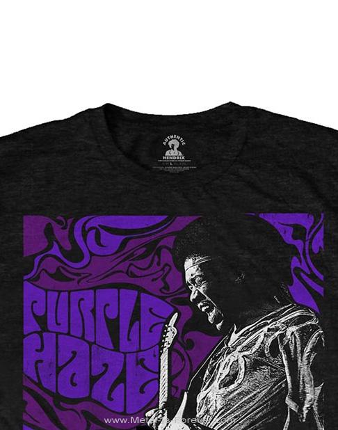 JIMI HENDRIX (ジミ・ヘンドリックス) PURPLE HAZE 「パープル・ヘイズ(紫のけむり)」 Tシャツ