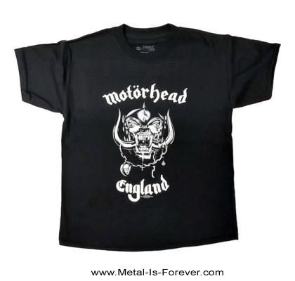 MOTORHEAD (モーターヘッド) ENGLAND 「イングランド」 キッズTシャツ