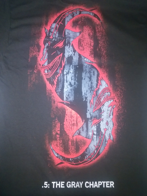 【在庫有り】SLIPKNOT -スリップノット- .5: THE GRAY CHAPTER 「.5:ザ・グレイ・チャプター」 スター Tシャツ Sサイズ