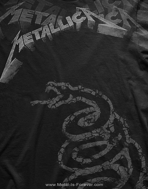 METALLICA -メタリカ- BLACK ALBUM 「ブラック・アルバム」 Tシャツ