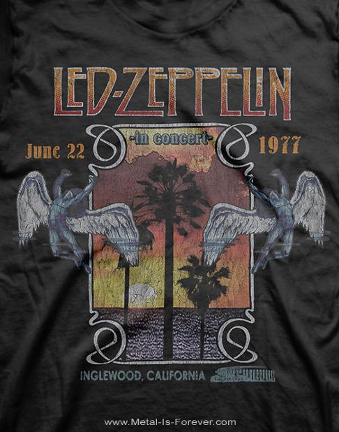 LED ZEPPELIN (レッド・ツェッペリン) INGLEWOOD 「イングルウッド」 Tシャツ