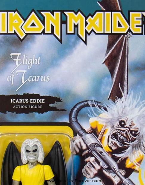 IRON MAIDEN (アイアン・メイデン) FLIGHT OF ICARUS 「イカルスの飛翔」 リアクション・フィギュア