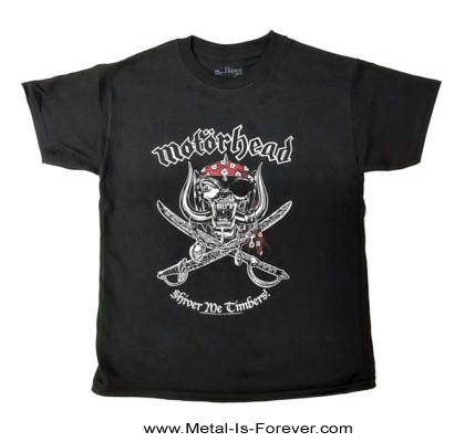 MOTORHEAD (モーターヘッド) SHIVER ME TIMBERS 「シヴァー・ミー・ティンバース」 キッズTシャツ
