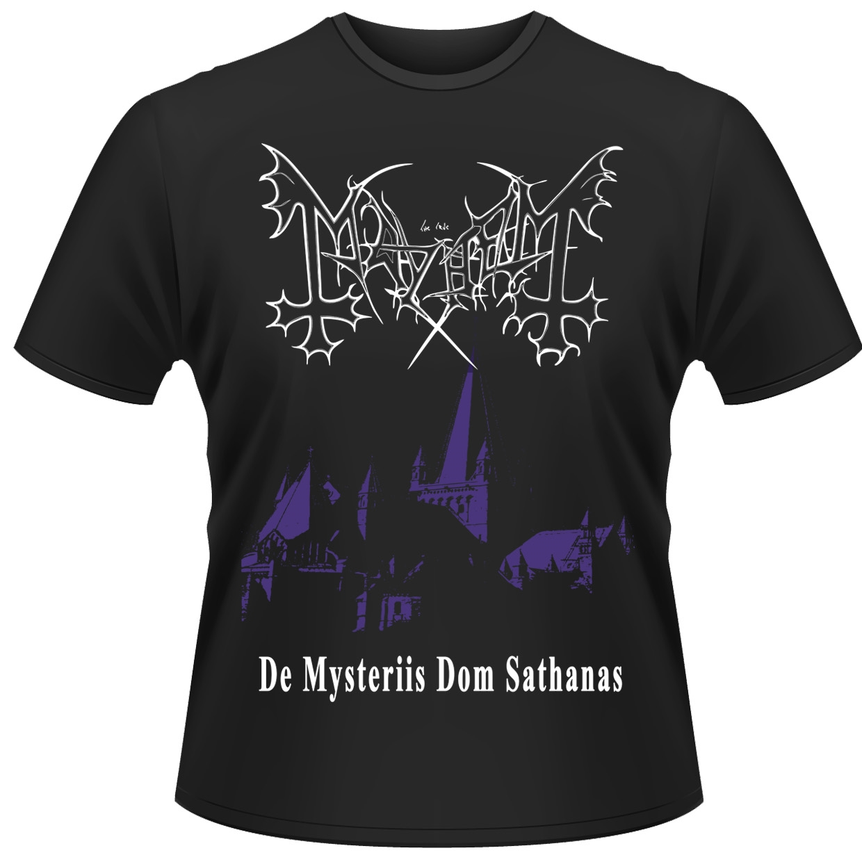 MAYHEM -メイヘム- DE MYSTERIIS DOM SATHANAS 「狂魔密儀」 Tシャツ