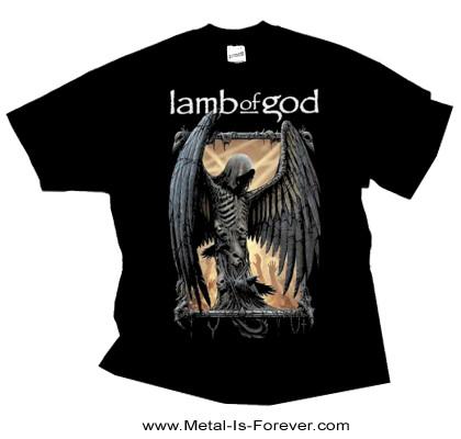 LAMB OF GOD -ラム・オブ・ゴッド- WINGED DEATH 「ウィング・デス」 Tシャツ