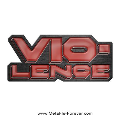 VIO-LENCE(ヴァイオレンス) LOGO 「ロゴ」 ピンバッジ