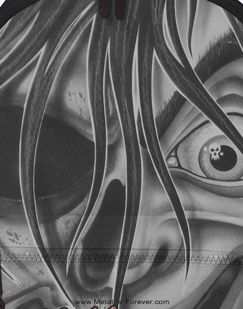MOTLEY CRUE (モトリー・クルー) DR.FEELGOOD FACE 「ドクター・フィールグッド・フェイス」 リュックサック