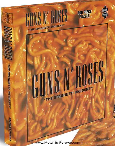 GUNS N' ROSES (ガンズ・アンド・ローゼズ) THE SPAGHETTI INCIDENT? 「ザ・スパゲッティ・インシデント?」 500ピース ジグソーパズル