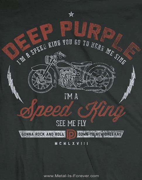 DEEP PURPLE (ディープ・パープル) SPEED KING 「スピード・キング」 Tシャツ