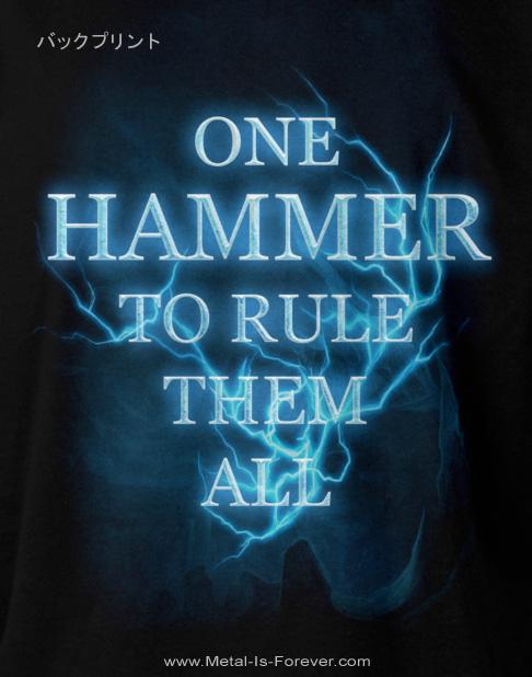 HAMMERFALL (ハンマーフォール) SECOND TO ONE 「セカンド・トゥ・ワン」 Tシャツ