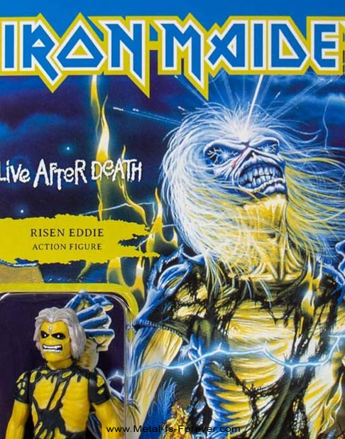 IRON MAIDEN (アイアン・メイデン) LIVE AFTER DEATH 「死霊復活」 リアクション・フィギュア