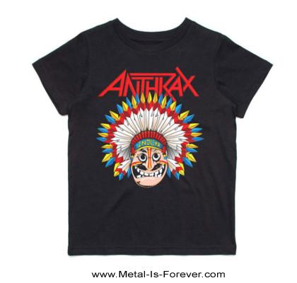 ANTHRAX (アンスラックス) WAR DANCE 「ウォー・ダンス」 キッズTシャツ