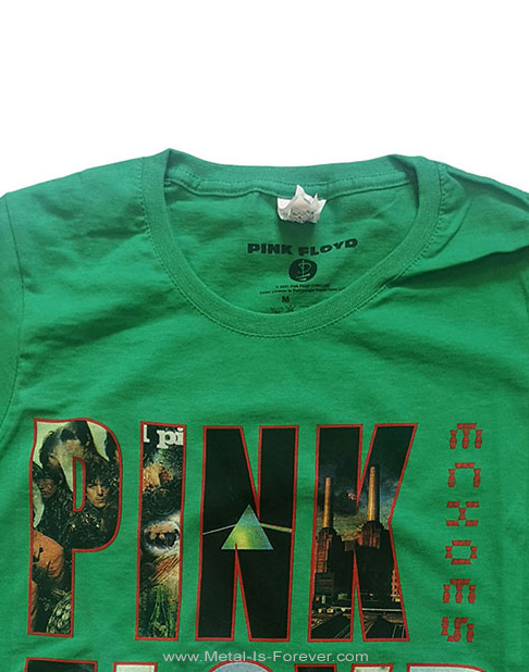 PINK FLOYD (ピンク・フロイド) ECHOES 「エコーズ〜啓示」 レディースTシャツ(緑)