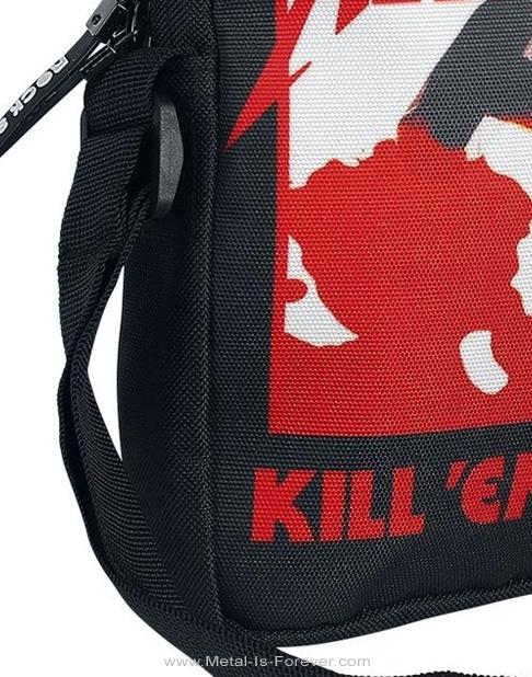 METALLICA -メタリカ- KILL 'EM ALL 「キル・エム・オール〜血染めの鉄槌(ハンマー)」 ボディバッグ