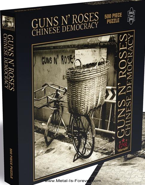 GUNS N' ROSES (ガンズ・アンド・ローゼズ) CHINESE DEMOCRACY 「チャイニーズ・デモクラシー」 500ピース ジグソーパズル