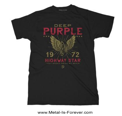 DEEP PURPLE (ディープ・パープル) HIGHWAY STAR 「ハイウェイ・スター」 Tシャツ
