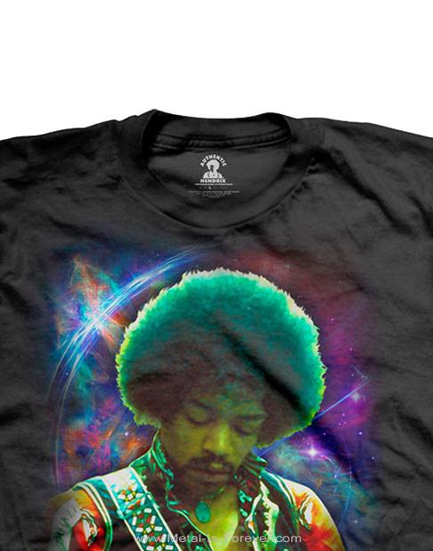 JIMI HENDRIX (ジミ・ヘンドリックス) ARE YOU EXPERIENCED 「アー・ユー・エクスペリエンスト?」 コズミック Tシャツ