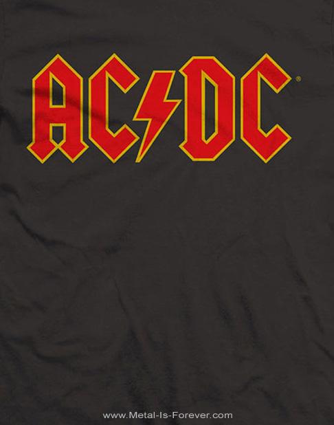 AC/DC (エーシー・ディーシー) LOGO 「ロゴ」 キッズ Tシャツ