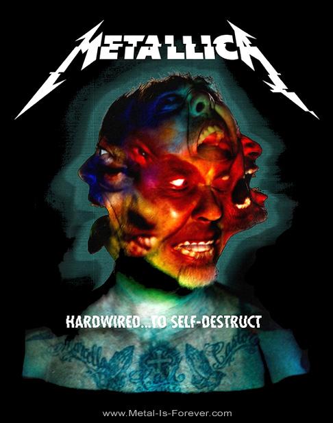 METALLICA -メタリカ- HARDWIRED...TO SELF-DESTRUCT 「ハードワイアード...トゥ・セルフディストラクト」 Tシャツ