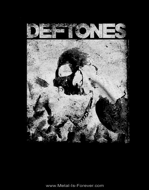 DEFTONES -デフトーンズ- SKULL 「スカル」  Tシャツ