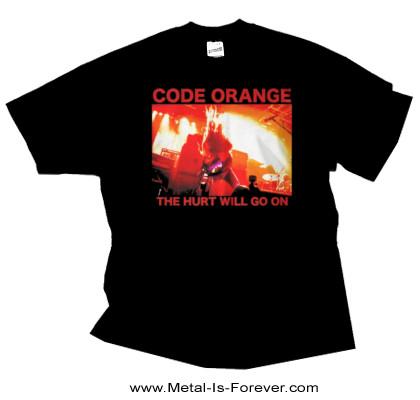 CODE ORANGE -コード・オレンジ- RED HURT PHOTO 「レッド・ハート・フォト」 Tシャツ