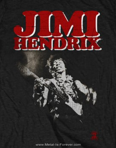 JIMI HENDRIX (ジミ・ヘンドリックス) BLOCK LOGO 「ブロック・ロゴ」 Tシャツ