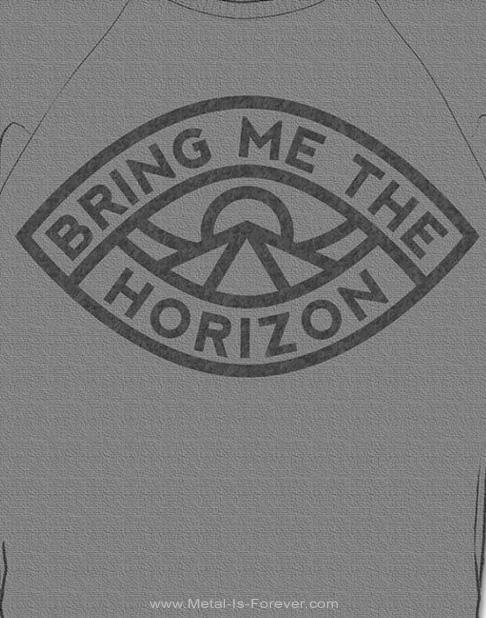 BRING ME THE HORIZON (ブリング・ミー・ザ・ホライズン) EYE 「アイ」 スウェット(グレー)
