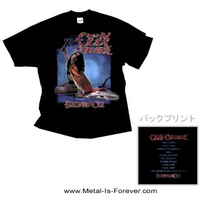 OZZY OSBOURNE (オジー・オズボーン) BLIZZARD OF OZ 「ブリザード・オブ・オズ〜血塗られた英雄伝説」 トラックリスト Tシャツ