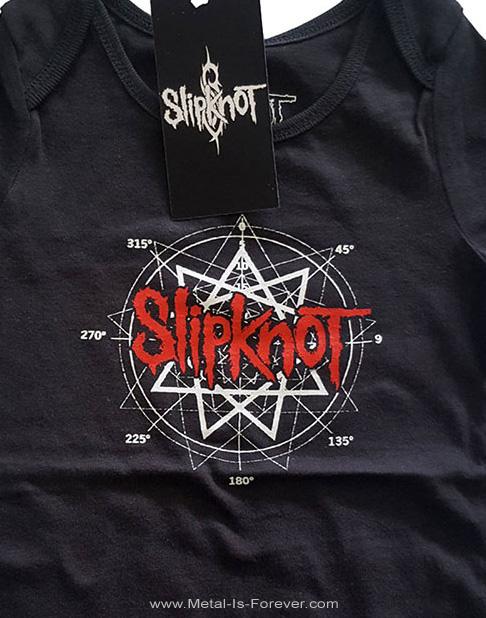 SLIPKNOT (スリップノット) STAR LOGO 「九芒星」 ベビー服