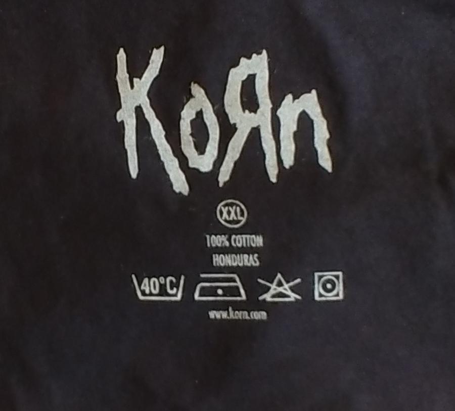 【在庫有り商品】KORN -コーン- KORN 「コーン」 Tシャツ XXLサイズ
