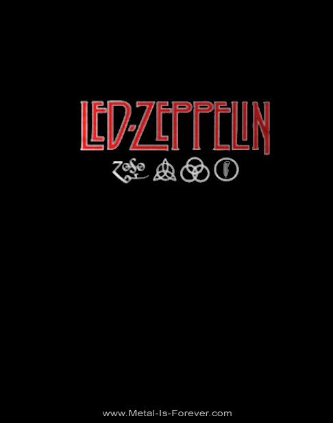 LED ZEPPELIN -レッド・ツェッペリン- LOGO & SYMBOLS 「ロゴ・アンド・シンボル」  レディースTシャツ