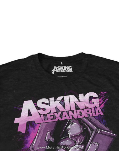 ASKING ALEXANDRIA (アスキング・アレクサンドリア) COFFIN GIRL 「コフィン・ガール」 Tシャツ