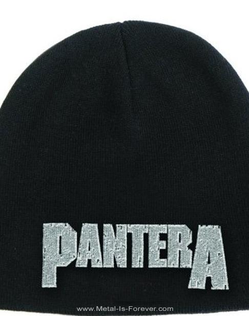 PANTERA (パンテラ) LOGO 「ロゴ」 ニットキャップ