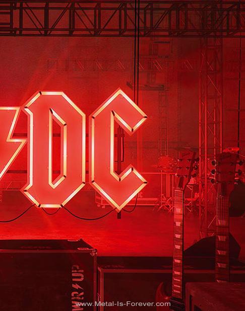 AC/DC (エーシー・ディーシー) POWER UP 「パワーアップ」 布製ポスター