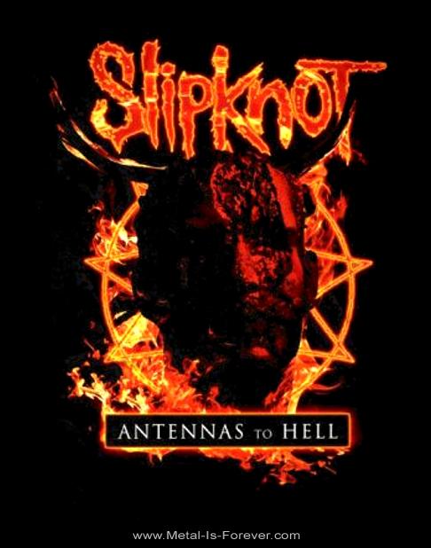 SLIPKNOT -スリップノット-  ANTENNAS TO HELL  「アンテナズ・トゥ・ヘル」  Tシャツ