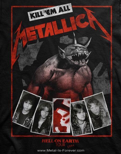 METALLICA -メタリカ- HELL ON EARTH 「ヘル・オン・アース」 1984年ツアーTシャツ