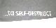 """【在庫有り商品】METALLICA -メタリカ- HARDWIRED...TO SELF-DESTRUCT 「ハードワイアード...トゥ・セルフディストラクト」 スネーク・レザー""""M"""" パーカー(ライト・グレー) Lサイズ"""