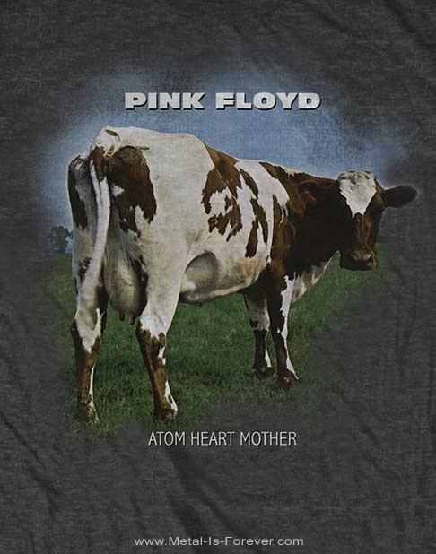 PINK FLOYD -ピンク・フロイド- ATOM HEART MOTHER 「原子心母」 Tシャツ(チャコール・グレー)