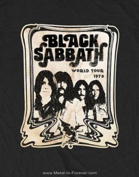 BLACK SABBATH (ブラック・サバス) WORLD TOUR 1978 「1978年ワールド・ツアー」 Tシャツ
