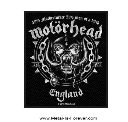 MOTORHEAD (モーターヘッド) BALL & CHAIN 「ボール・アンド・チェイン」 ワッペン