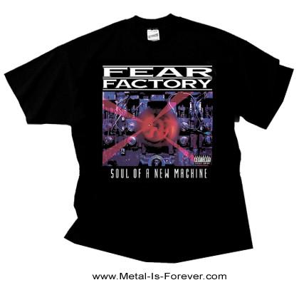 FEAR FACTORY (フィア・ファクトリー) SOUL OF A NEW MACHINE 「ソウル・オブ・ア・ニュー・マシーン」 Tシャツ