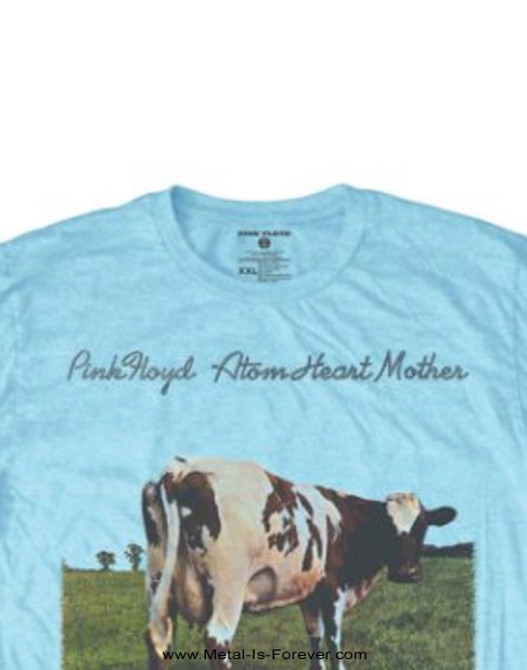 PINK FLOYD (ピンク・フロイド) ATOM HEART MOTHER 「原子心母」 Tシャツ(水色)