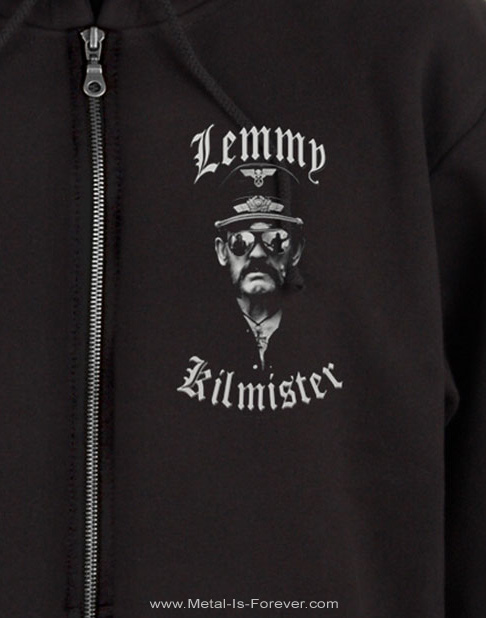 LEMMY KILMISTER -レミー・キルミスター- MF'ING 「マザーファッキン」 ジップ・パーカー