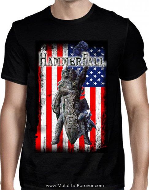 HAMMERFALL -ハンマーフォール- REBILT TO TOUR 「リビルト・トゥ・ツアー」 2018年北米ツアー Tシャツ