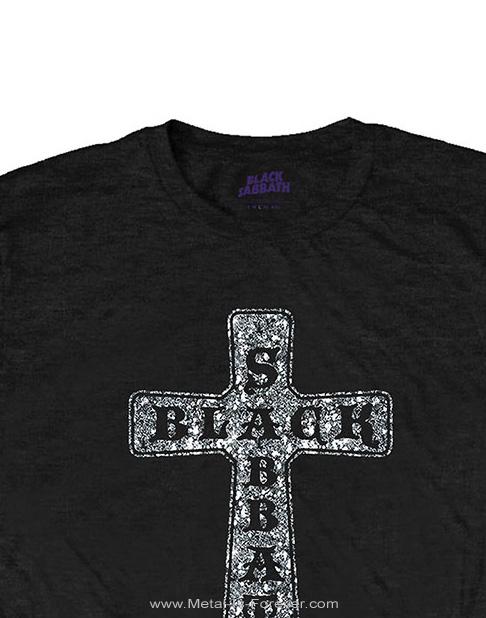 BLACK SABBATH -ブラック・サバス- CROSS 「クロス」 Tシャツ(ラインストーン)