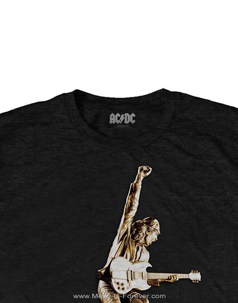 AC/DC -エーシー・ディーシー- STIFF UPPER LIP 「スティッフ・アッパー・リップ」 スタチュー Tシャツ