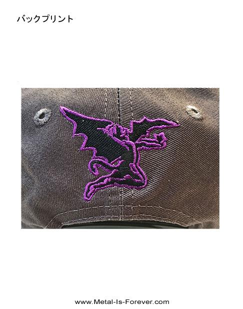 BLACK SABBATH (ブラック・サバス) WAVY LOGO 「ウェービー・ロゴ」 ベースボール・キャップ